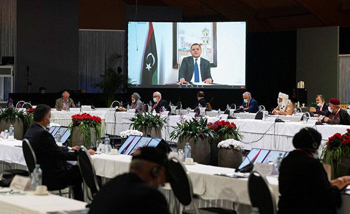 Премьер-министр Ливии Абдель Хамид ад-Дбейба