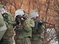 Военнослужащие инженерно-штурмового подразделения
