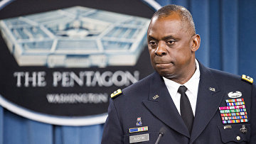 Министр обороны США Ллойд Дж. Остин III