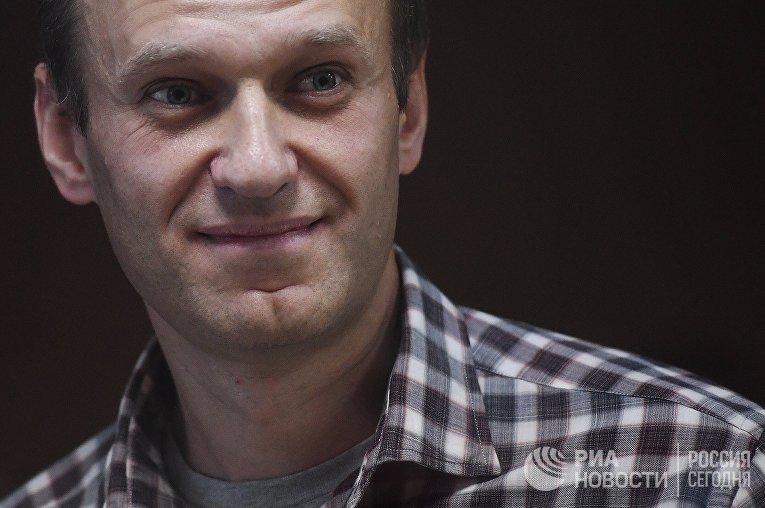 Заседание суда поА.Навальному