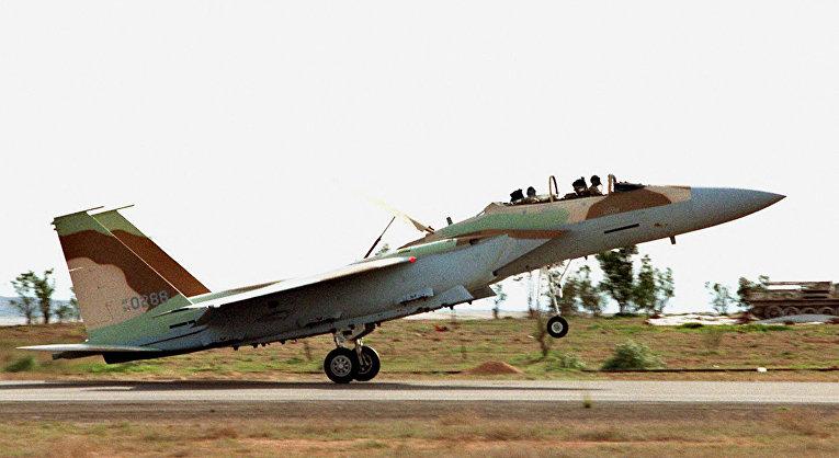Израильский истребитель-бомбардировщик F-15I