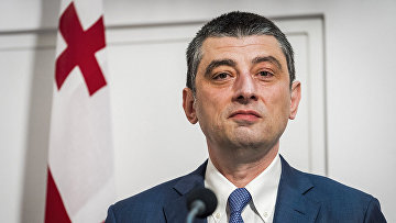 Грузинский премьер-министр Георгий Гахария