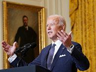 Президент США Джо Байден выступает на Мюнхенской конференции по безопасности в Вашингтоне