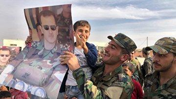 Сирийская армия взяла под контроль Манбидж и его окрестности