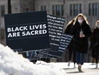 Месяц черной истории в кампусе Бостонского колледжа, США