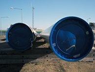 Береговые объекты газопровода «Северный поток— 2» вгороде Лубмин вГермании