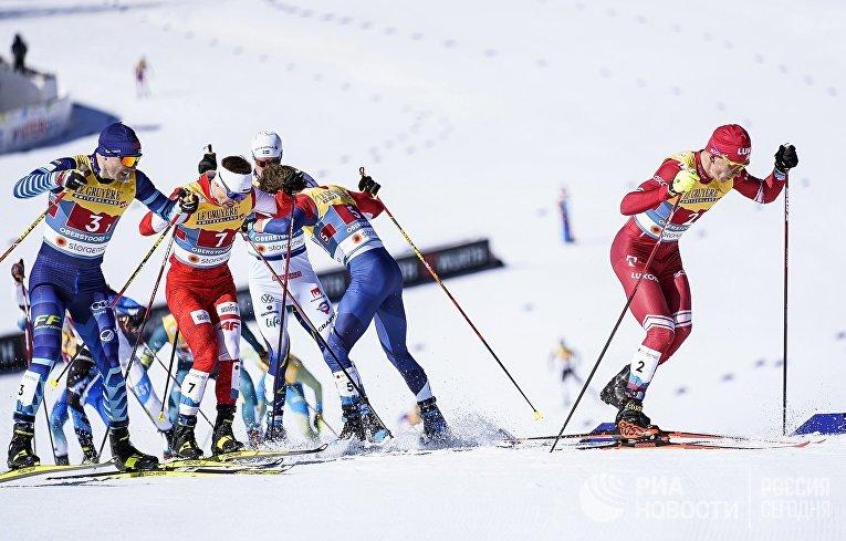 Лыжные гонки. Чемпионат мира. Мужчины. Командный спринт