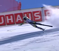 Норвежская лыжница Кайса Викхофф Ли