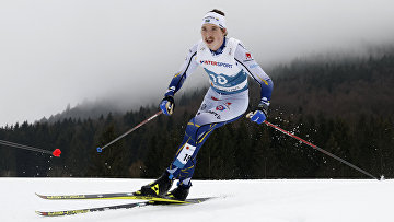 Шведский лыжник Вильям Поромаа наЧМ полыжным гонкам— 2021