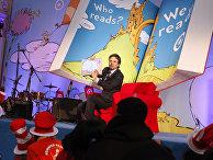Актер Марк Раффало на мероприятии в Нью-Йоркской публичной библиотеке, посвященном юбилею Доктора Сьюза