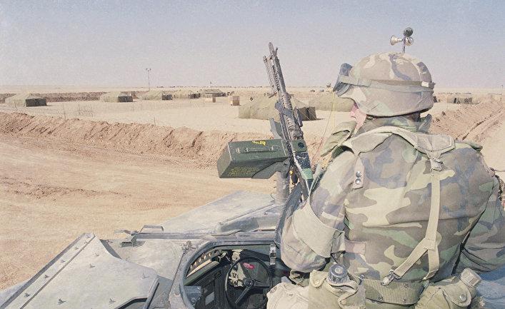 12февраля 1991. Американские войска готовятся коперации «Буря впустыне»