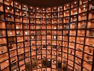 Экспозиция Катынского музея в Варшаве