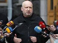 Бывший секретарь Совета национальной безопасности и обороны Украины Александр Турчинов