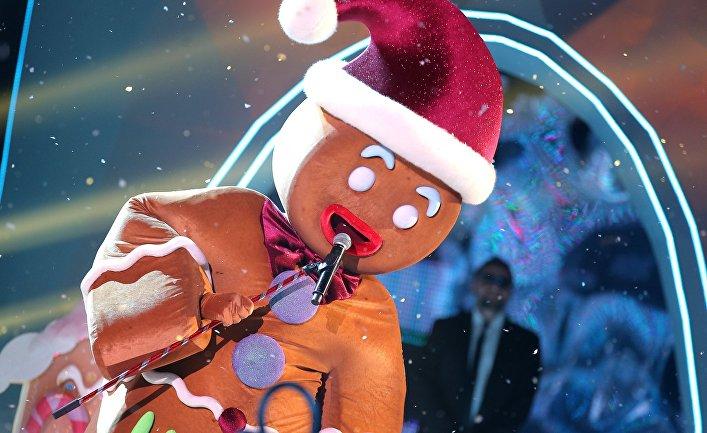 "Съемки программы ""Новогодняя маска"" на телеканале НТВ"