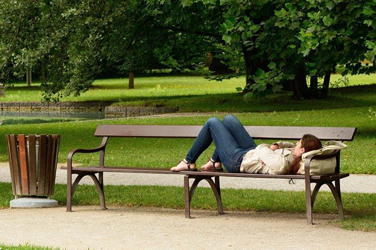 Отдых в парке