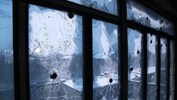 Ситуация на линии соприкосновения в Донецкой области