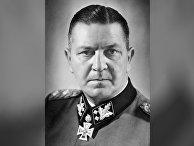 Немецкий генерал Теодор Эйке