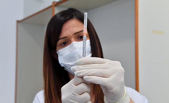 Вакцинация вакциной Sputnik V в Сан-Марино