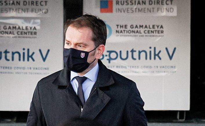 Вакцина Sputnik V доставлена в Словакию
