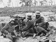 Немецкие пулеметчики на Восточном фронте в 1939 году