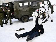 Учение военной полиции под Екатеринбургом