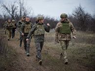 Рабочая поездка президента Украины Владимира Зеленского в Донбасс