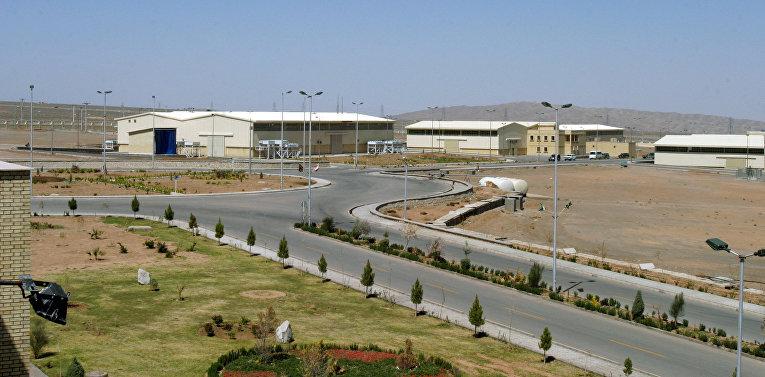 Завод по обогащению урана в Натанзе, Иран
