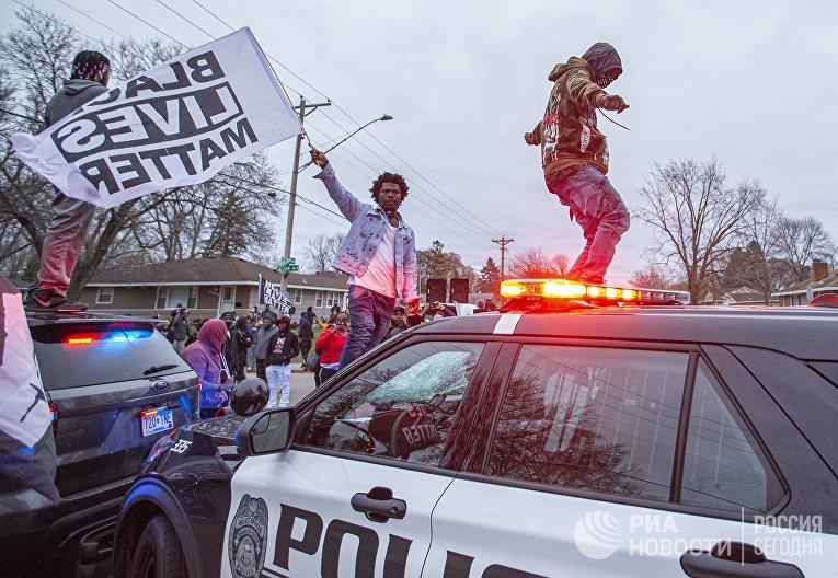 Протесты в Миннеаполисе