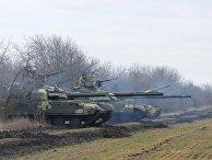 ВСУ провели масштабные учения на границе с Крымом