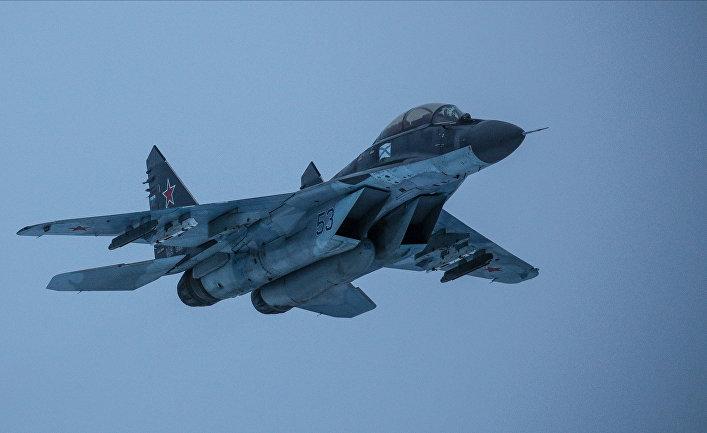 Палубный многоцелевой истребитель МиГ-29К