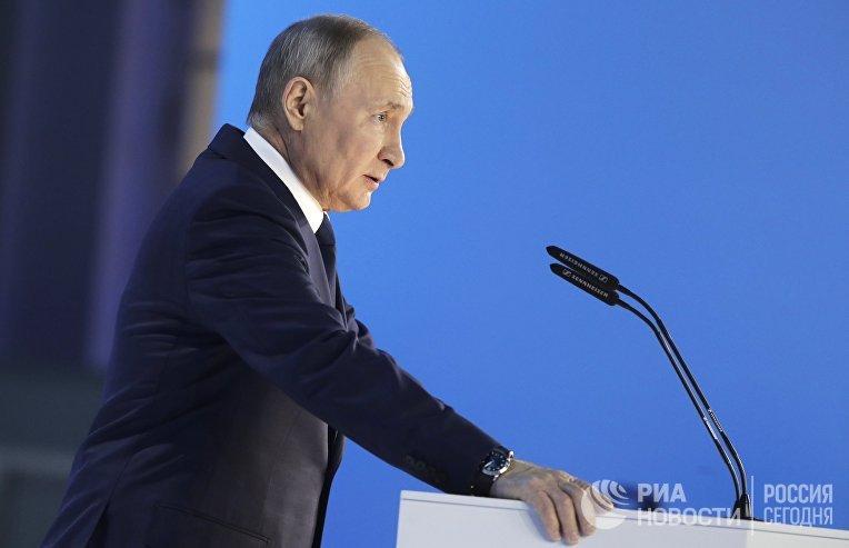 21 апреля 2021. Ежегодное послание президента Владимира Путина Федеральному собранию