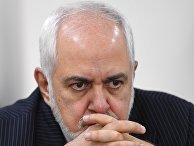 Встреча глав МИД Армении и Ирана А. Айзвазяна и М. Зарифа