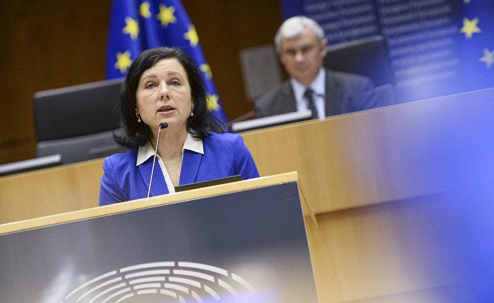 Заместитель председателя Европейской комиссии Вера Йоурова
