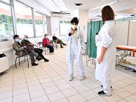 Вакцинация российской вакциной Sputnik V в Кайлунго, Сан-Марино
