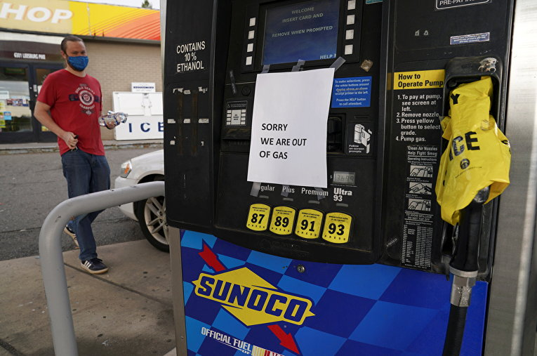 Дефицит топлива на АЗС в ряде штатов США после хакерской атаки на трубопровод Colonial Pipeline