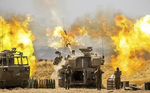 Израильская артиллерия ведет огонь по целям в секторе Газа