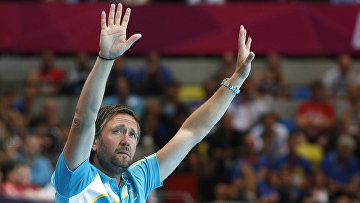 Шведский тренер по гандболу Пер Юханссон