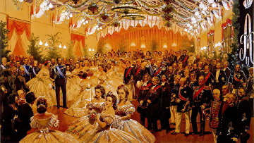 Бал в честь императора Александра II, в Хельсинки в сентябре 1863 г.