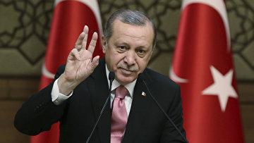 Президент Турции Турции Реджеп Тайип Эрдоган
