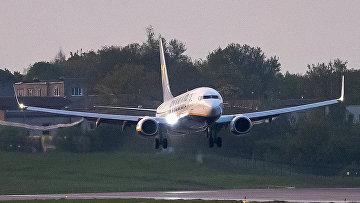Самолет Ryanair на борту которого находился оппозиционер Роман Пратасевич