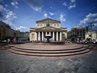 Фонтан на Театральной площади