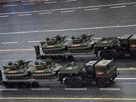 """Боевые многофункциональные робототехнические комплексы """"Уран-9"""""""