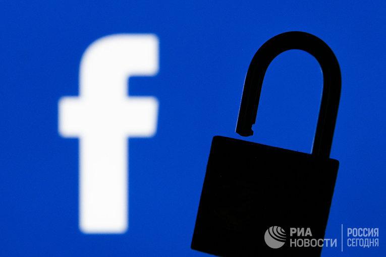 Иконка социальной сети Facebook