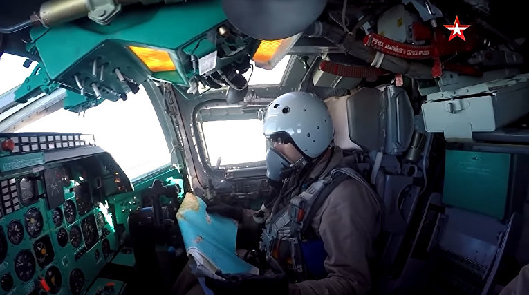 Экипажи Ту-22М3 приступили к выполнению задач по освоению воздушного пространства над Средиземным морем