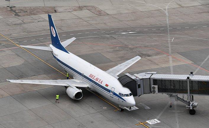 """Самолет белорусской авиакомпании """"Белавиа"""""""