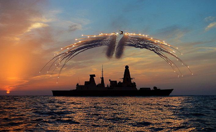Британский эскадренный миноносец «Дрэгон»