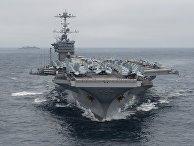Американский авианосец USS Harry Truman