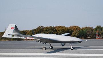 Турецкий беспилотный летательный аппарат «Байрактар ТБ2»