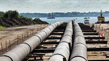 Строительство газопровода Baltic Pipe