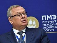 Президент - председатель правления Банка ВТБ Андрей Костин